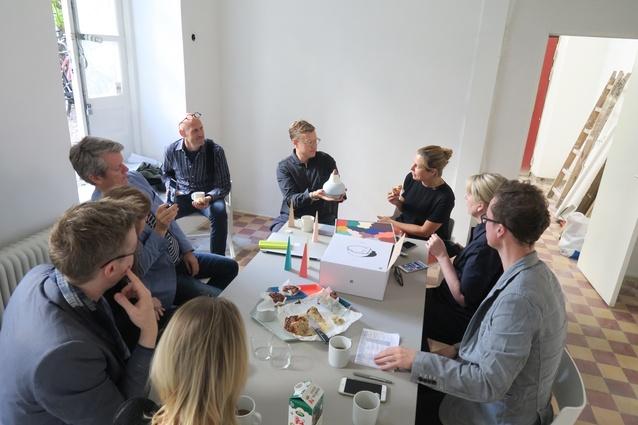 In Stockholm: visiting Shane Schneck and Clara von Zweigbergk in their new studio space for Fika.