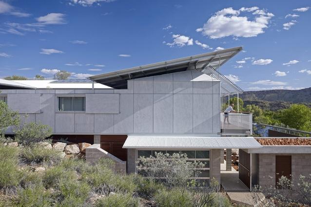Desert House by Dunn & Hillam Architects.