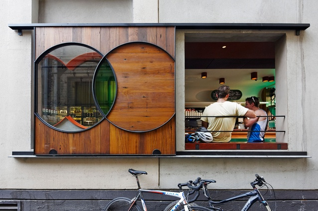 Spring Street Grocer by KGA Architecture.