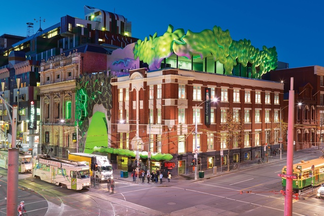RMIT Green Brain, Melbourne (2010).
