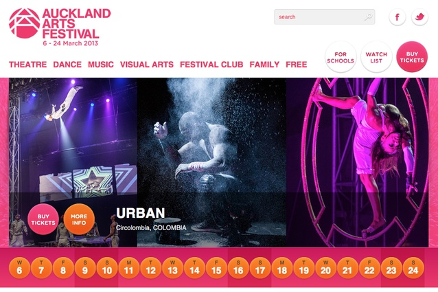 Auckland Arts Festival: Local and international plays, live music and dance around the city from 6 to 24 March; aucklandfestival.co.nz.