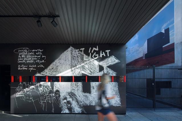Winner of Best Temporary Design –  Australian Pavilion Installation by Design by Pidgeon