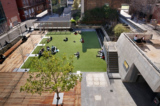 RMIT University Lawn Precinct by Peter Elliot Architecture and Urban Design.