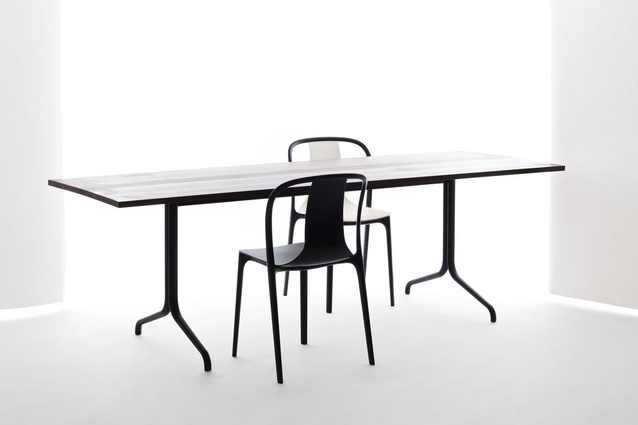 Belleville table by Ronan and Erwan Bouroullec for Vitra.
