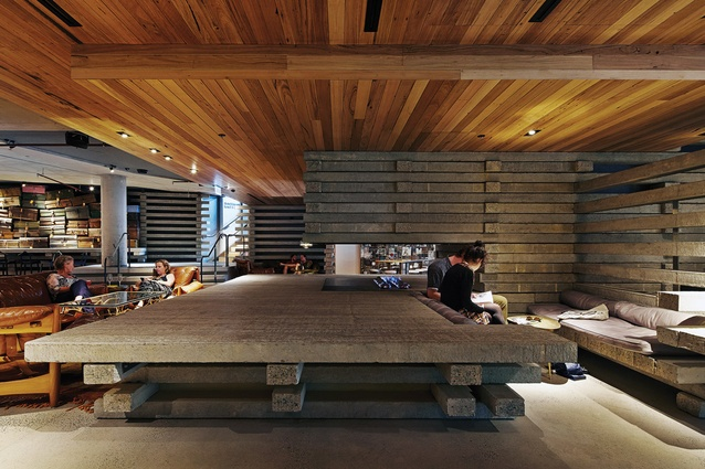 Hotel hotel architectureau for Hotel design studio