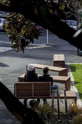 Public seating.