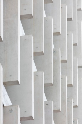"""QT Melbourne features the in situ concrete """"bones"""" and thickened edges that are characteristic of Candalepas Associates."""