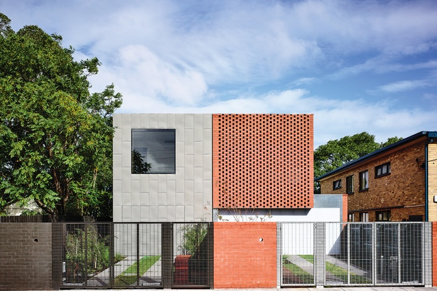 Clarence Houses by Rob Kennon Architects.