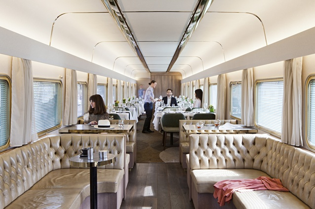 Great Southern Rail Platinum Club by Woods Bagot.