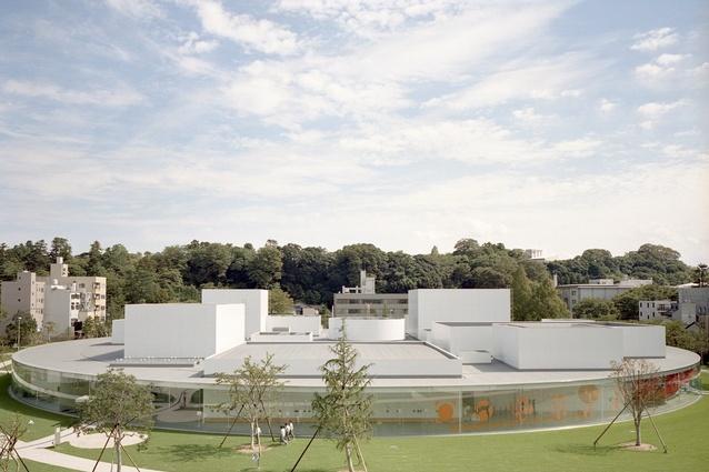 21st Century Museum of Contemporary Art, Kanazawa, Kazuyo Sejima + Ryue Nishizawa / SANAA.