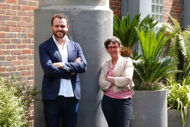 Australian architect Andrew Burns and British landscape designer Sarah Eberle.