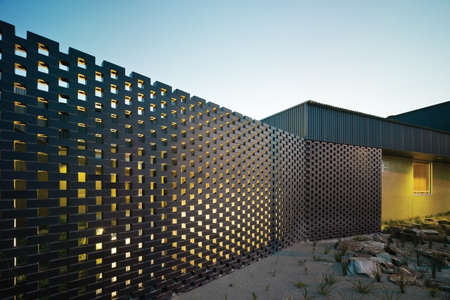 Architectural Screen Walls : Carrum downs police station by kerstin thompson architects