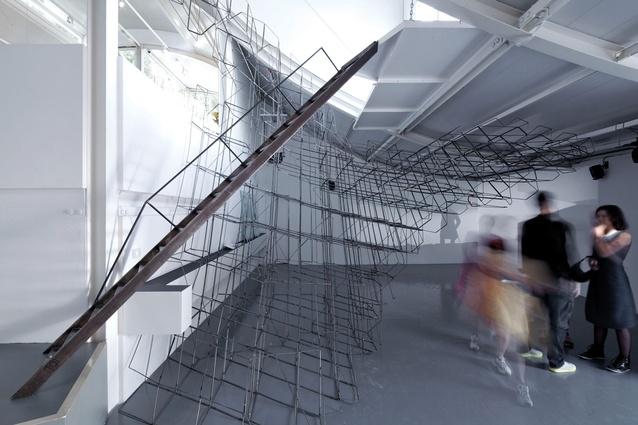 <em>Clouds of Venice</em> installation, Venice, 2012 by Supermanoeuvre.