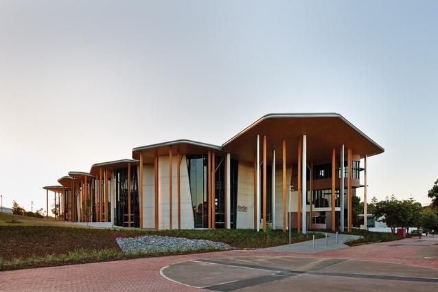 Abedian School of Architecture, Bond University by CRAB Studio.