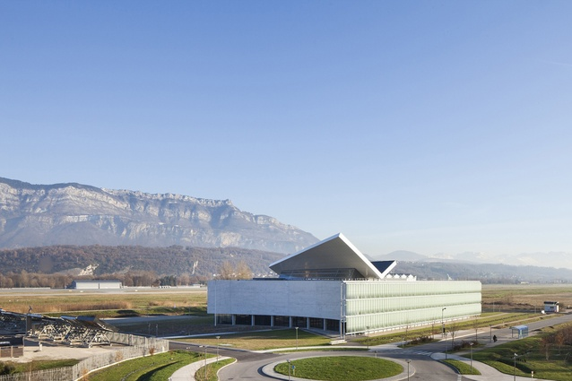 INES: French National Solar Energy Institute by Atelier Michel Rémon + Agence Frédéric Nicolas. At least forty per cent of the building's energy is provided by solar power.