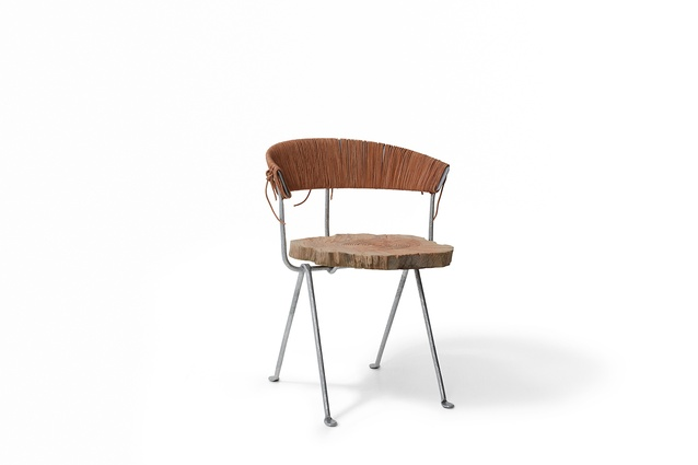 The Officina chair reinvented by Fiona Lynch for Chairity Project 2016.