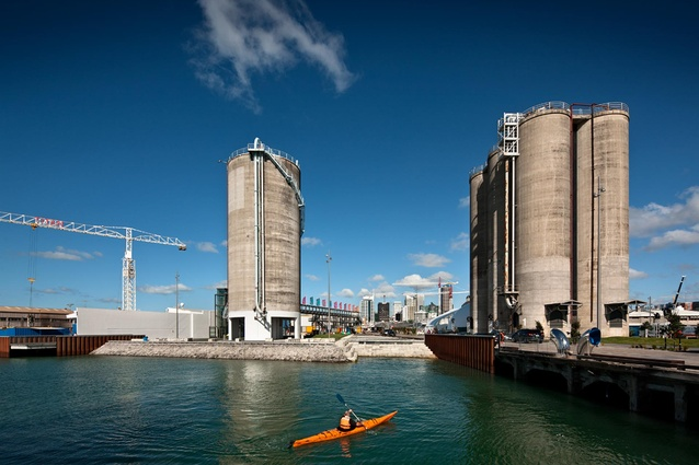 North Wharf Promenade, Silo Park and Jellicoe Street by Taylor Cullity Lethlean and North Wharf Building by Fearon Hay.