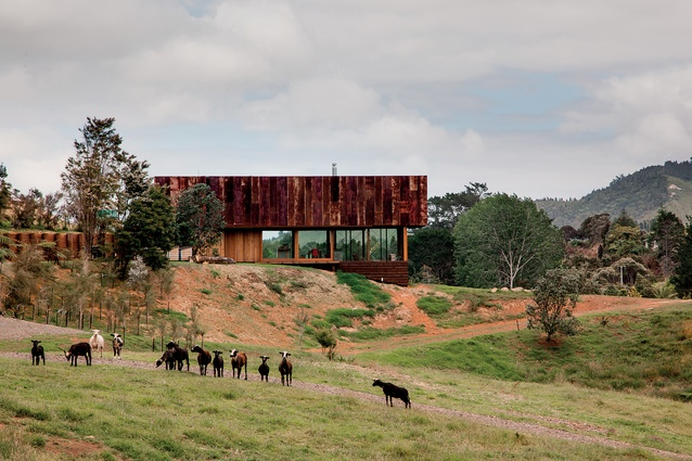 Housing category winner: K Valley House, Coromandel by Herbst Architects.