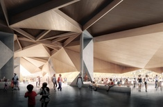 'Sharp, angular' new visitor centre for Penguin Parade