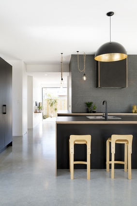 Residential Interiors Architectural Design Award: A-cute House, Mount Maunganui by Tane Cox of Red Architecture.