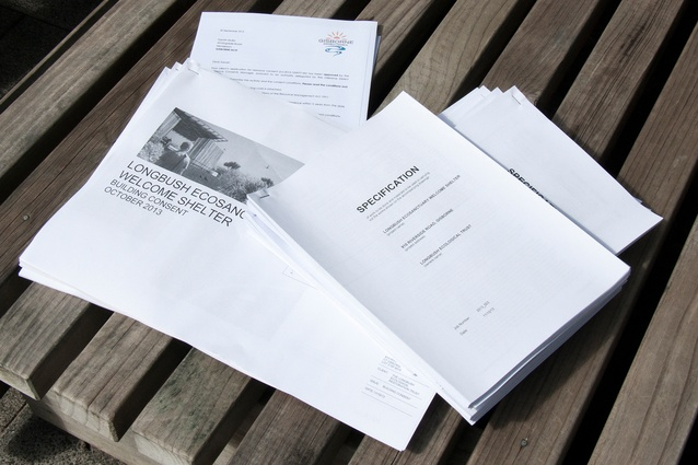 Consent documentation ready to be presented to the council.