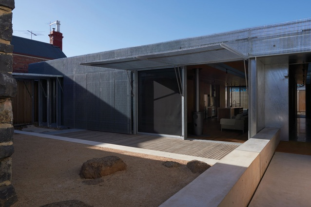 Residential Architecture – Houses Award: Edward Street House by Sean Godsell Architects.