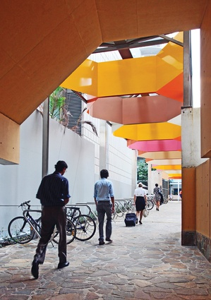 A new laneway extends along Santos Place's southern edge, connecting to the Kurilpa Bridge.