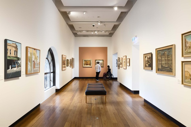 Scenes of Our City exhibition at the Museum of Brisbane.