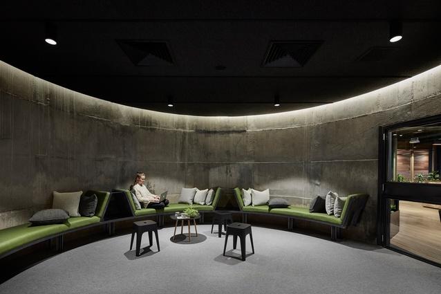 Slack Melbourne Office by Breathe Architecture.
