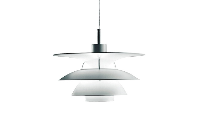 The original PH 5 pendant by Poul Henningsen.