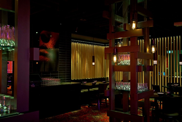 Best Restaurant Design (joint winner): Spice Temple Melbourne by 1:1 Architects in Association with Grant Cheyne.