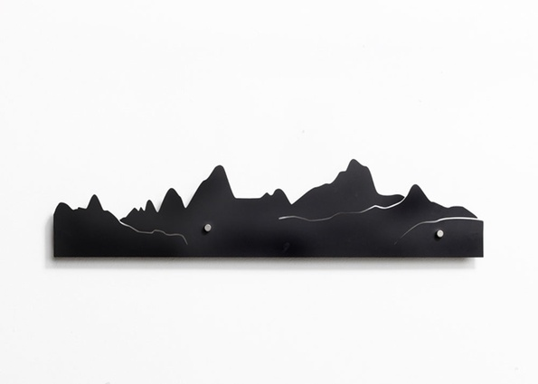 Southern Alps Skyline coat rack.