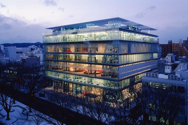 Sendai Mediatheque, Toyo Ito & Associates, Architects.