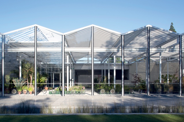 Christchurch Botanic Gardens Visitor Centre, designed by Patterson Associates.