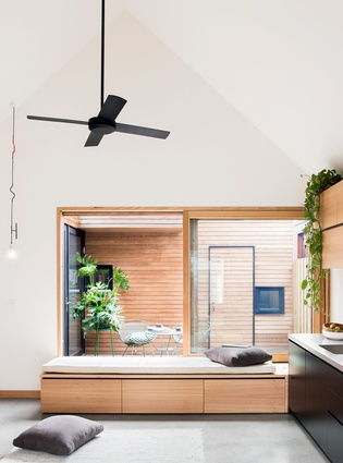 Breathe architecture model house