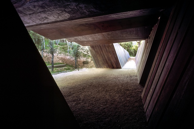 Bell–Lloc Winery in Palamós, Spain by RCR Arquitectes (2007).
