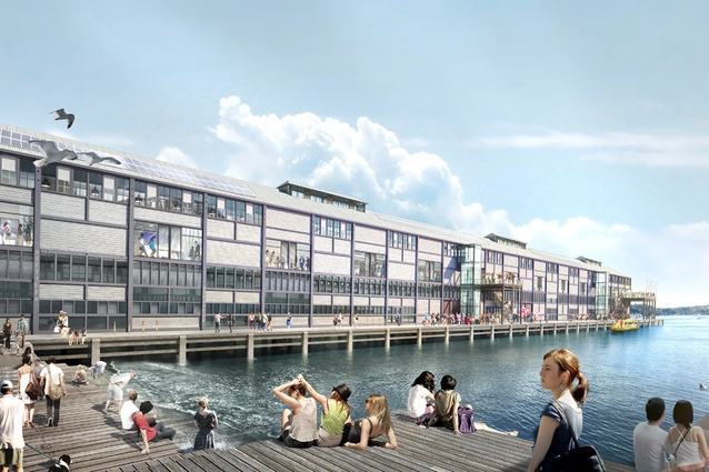 The Sydney Theatre Company renewal project is part of the wider redevelopment of the Walsh Bay Arts Precinct, to be designed by Tonkin Zulaikha Greer.