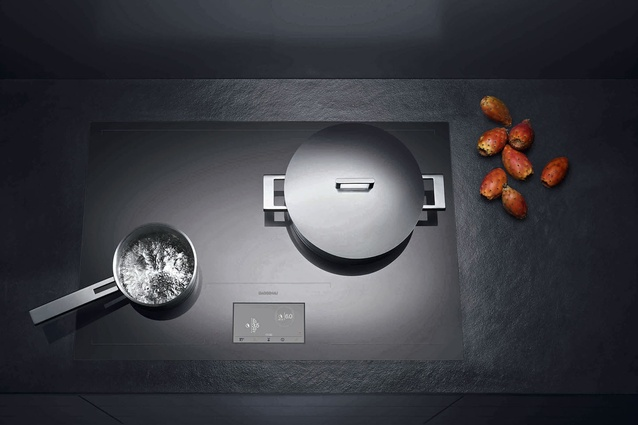 Gaggenau CX 480 induction cooktop.