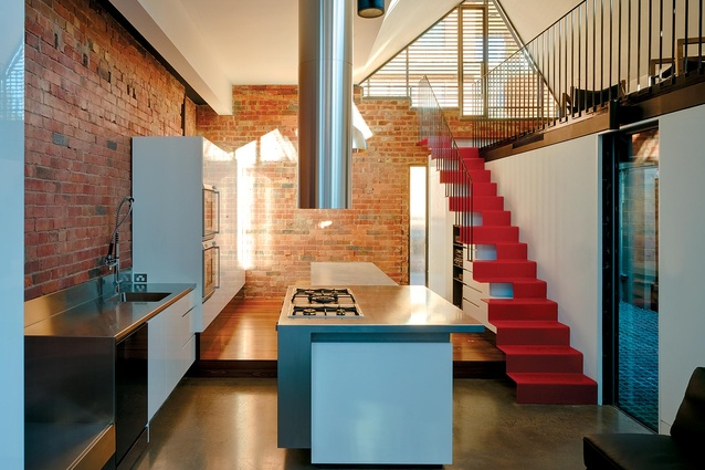 Vader House renovation in Fitzroy, Melbourne (Vic) by Andrew Maynard.