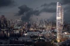 Winner announced: The Star Sydney casino hotel tower