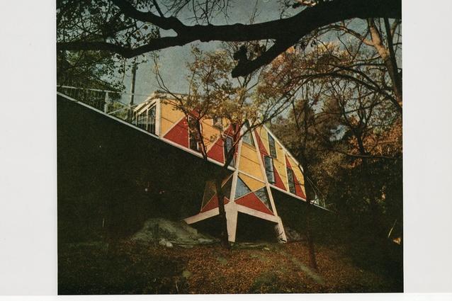 McIntyre House in Melbourne by Peter McIntyre.