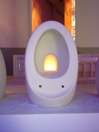 Laufen's display at the 2012 Milan Furniture Fair.