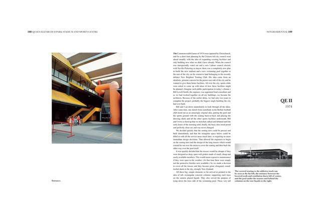 Inside one of the pages of <em>Peter Beaven ARCHITECT</em> by Peter Beaven.