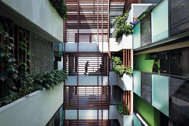 Constance street affordable housing architectureau - Affordable social housing ...