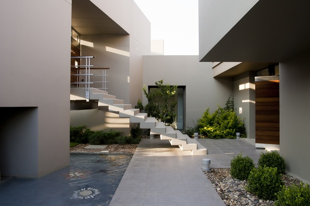 Arafeh Residence by Faris and Faris Architects.