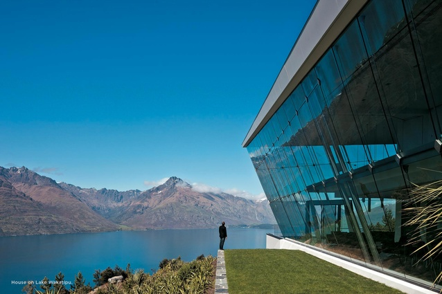 House on Lake Wakatipu.