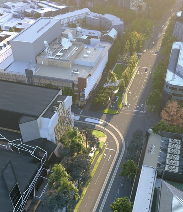 Open space will be created along Southbank Boulevard by converting a car lane.