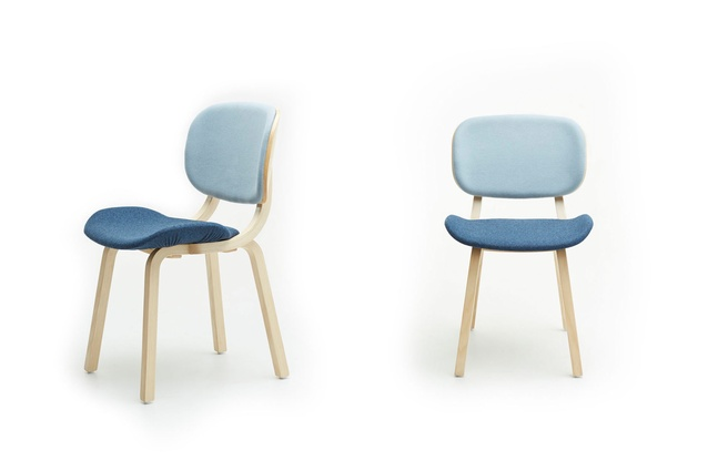 The Ballet chairs are available in a range of colours.