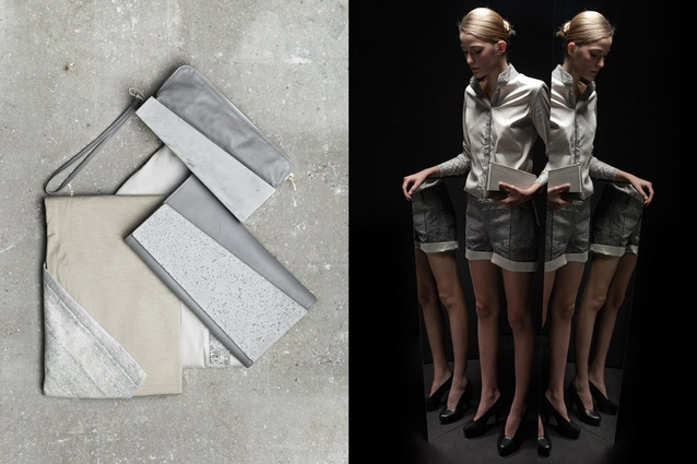 Ivanka 'Concrete Genezis' - Fade to Grey campaign lookbook.