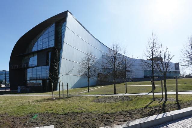 Steven Holl-designed Kiasma Museum of Contemporary Art.